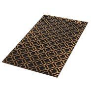 Tapete-Entrada-Mosaico--45-75Cm--Fibra-Plastico-Negro-------