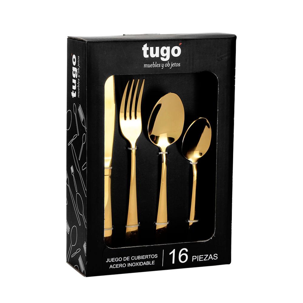 Set De Cubiertos 16 Pzs Eloy Tugocolombia # Muebles Tugo Barranquilla Direccion