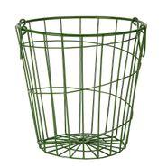 Canasta-Organizadora-Con-Asas-Star-20-20Cm-Metal-Verde------