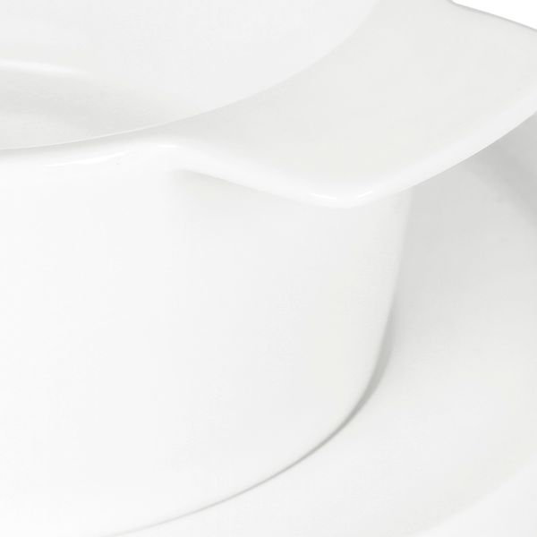 Bowl-Plato-Gusto-15-11-5Cm-16-8Cm-Cerami-Blanco-------------