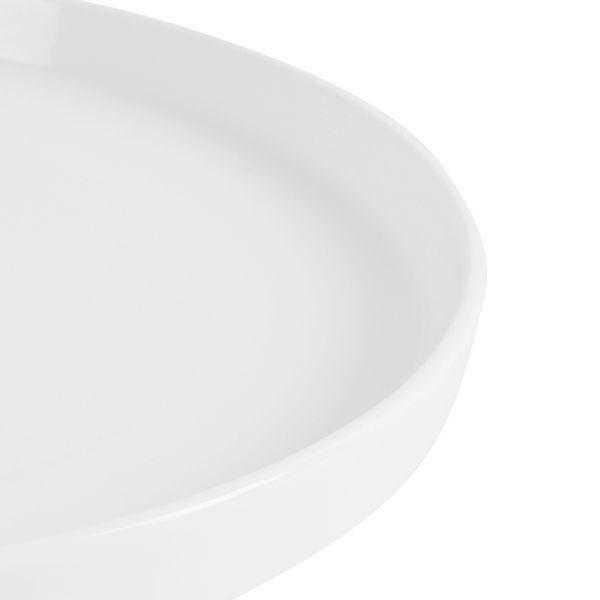 Plato-Llano-Gusto-26Cm--Porcelana-Blanco--------------------