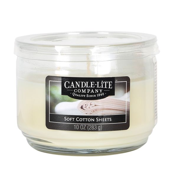 Vela-10-Oz-Candle-Lite-Soft-Cotton-Sheets-------------------