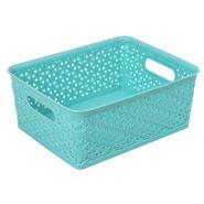 Caja-Organizadora-Cross-20-25-10Cm-Plastico-Turquesa--------