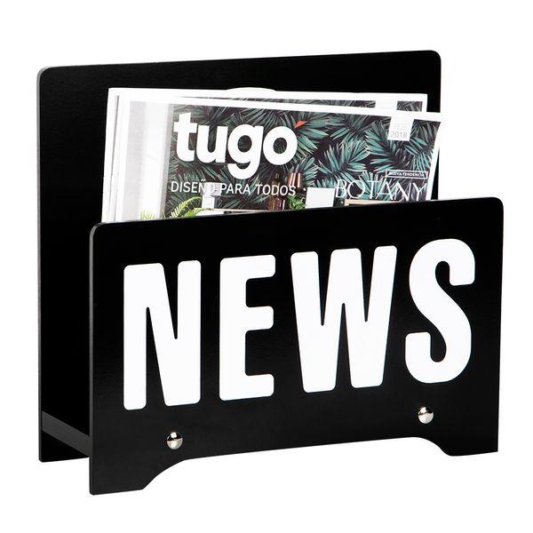 Revistero-News-34-11-30Cm-Madera-Negro----------------------