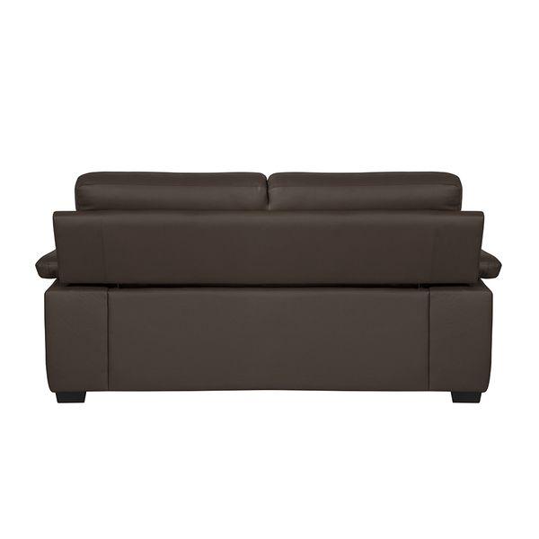 Sofa-2-puestos-Cadiz-Cuero-Pvc-Cafe