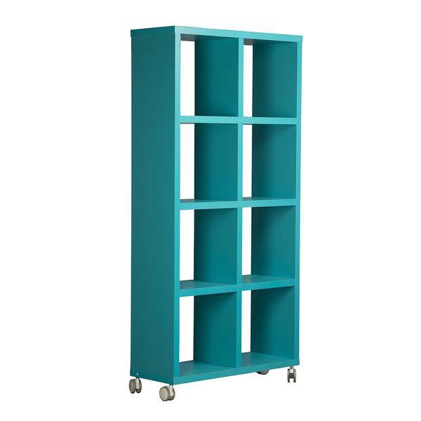 Biblioteca-con-Ruedas-Mix-8-Repisas-Azul