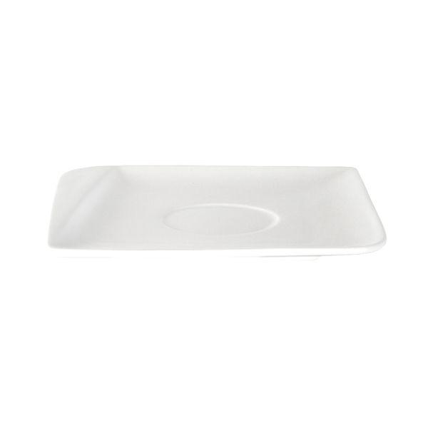 Plato-Para-Taza-Cuadrado-Ambience-14-cm-Porcelana-Blanco