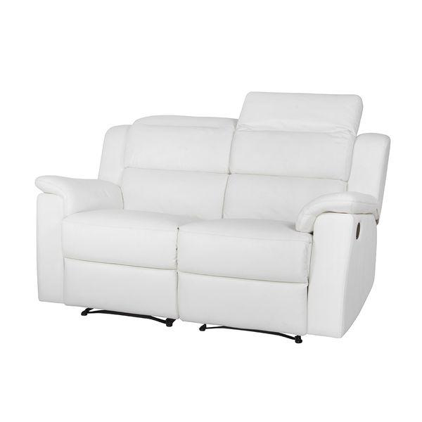Sofa-2-Puestos-Reclinable-Manual-Britania-Cuero-Pvc-Blanco-Cos-Gris-