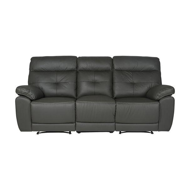Sofa--3-Puestos-Reclinable-Toscana--Cuero--Pvc-