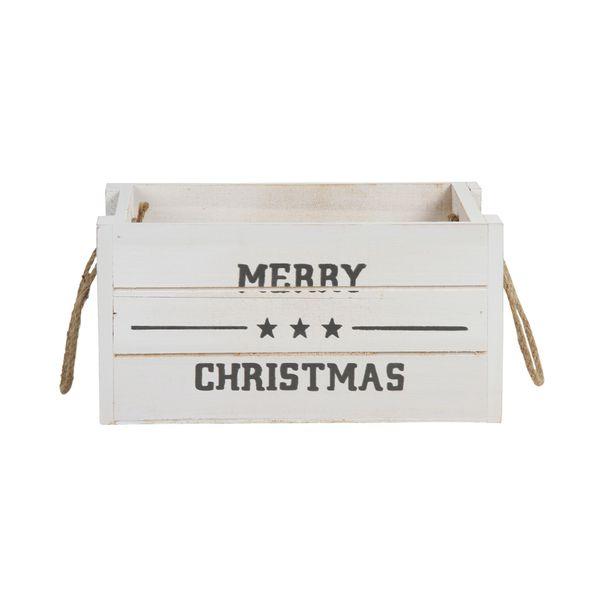 Navidad-Caja-Merry-Christmas-Madera-Blanca------------------