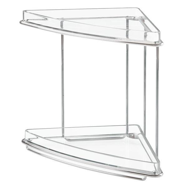 Organizador-Baño-Luci-16-16-23Cm-Plastico-Acero-Transparente