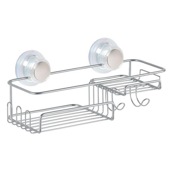 Organizador-Ducha-Pared-Basket-12-12-12Cm-Acero-------------
