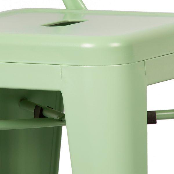 Butaco-Alto-Alabama-H-83-Metal-Verde-Menta------------------