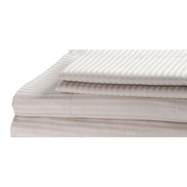 Juego-De-Sabanas-Saten-Stripe-Sencillo-300-Hl-100--Alg-Crudo