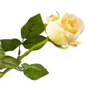 Flor-Artificial-Rosa-55Cm-Tela-Amarillo---------------------
