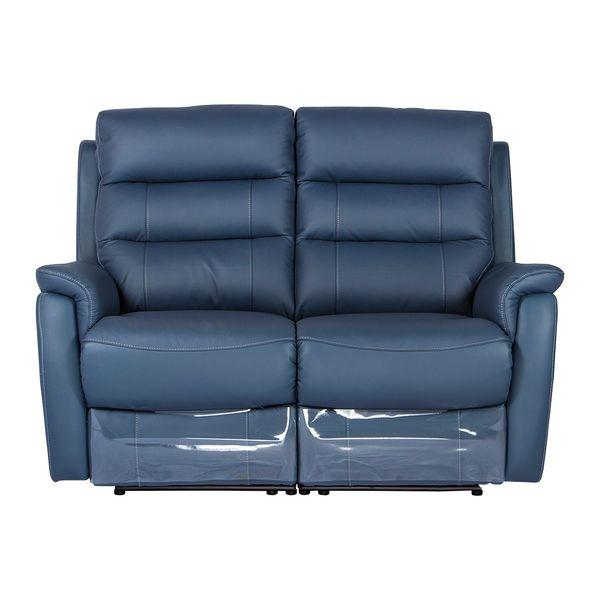 Sofa-2-Puestos-Reclinable-Electrica-Basilea-Cuero-Pvc-Azul--
