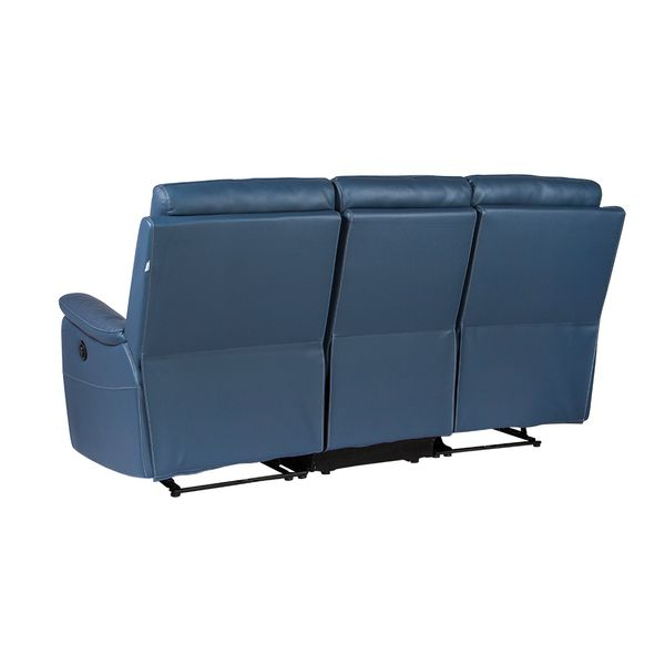 Sofa-3-Puestos-Reclinable-Electrica-Basilea-Cuero-Pvc-Azul--