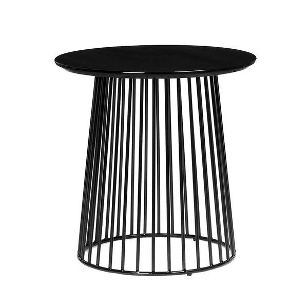 Mesa-Auxiliar-Cage-50-50-52Cm-Negro-------------------------