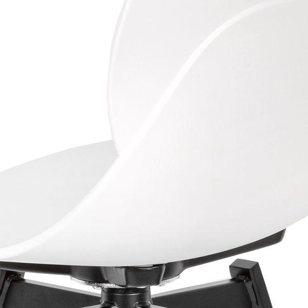 Silla-Auxiliar-Duo-Plastico-Metal-Blanco-Negro--------------