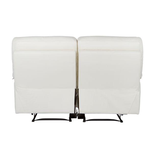 Sofa-2-Puestos-Reclinable-Toscana-Cuero-Pvc-Blanco-Cost-Gris