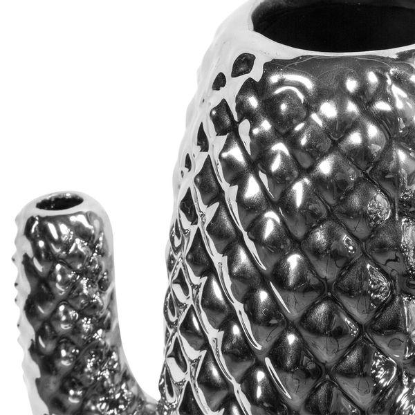 Florero-Cactus-15-15-26Cm-Ceramica-Plateado-----------------