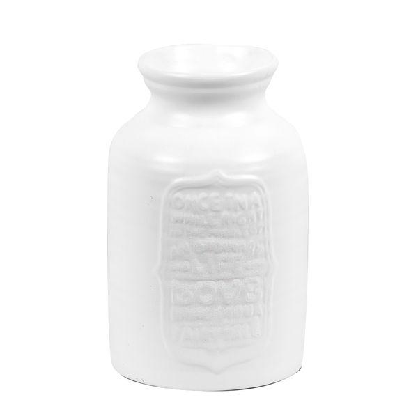 Florero-Tailandia-14-14-22.5Cm-Ceramica-Blanco--------------