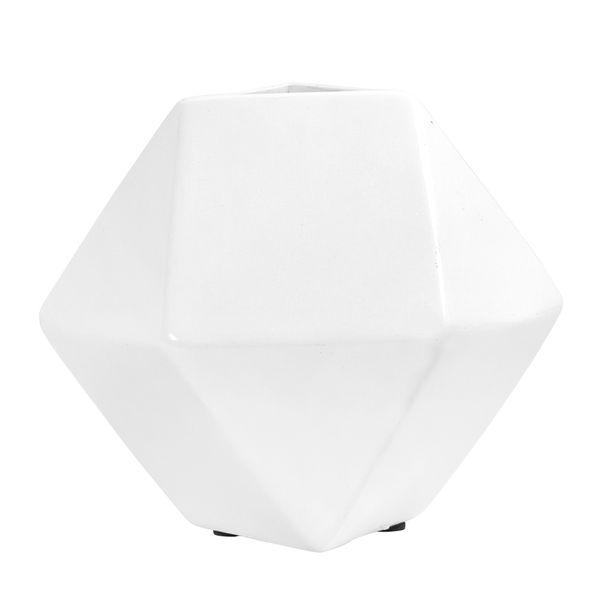 Florero-Munich-13-13-11Cm-Ceramica-Blanco-------------------