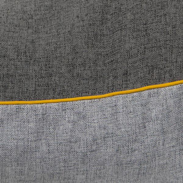 Funda-Cojin-S17-Unicolor-Poliester-Gris-Amarillo------------