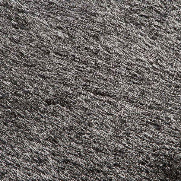 Tapete-Rectangular-Shag-Furry-120-170-4Cm-Poliester-Gris-Osc