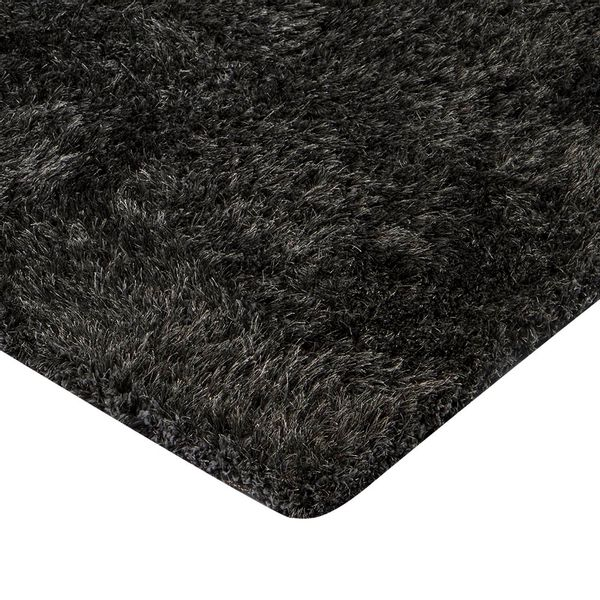 Tapete-Rectangular-Shag-Furry-150-220-4Cm-Poliester-Gris-Osc