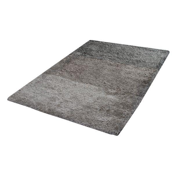 Tapete-Rectangular-Shag-Furry-150-220-4Cm-Poliester-Gris-Deg