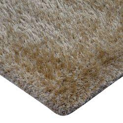 Tapete-Rectangular-Shag-Furry-120-170-4Cm-Poliester-Beige---