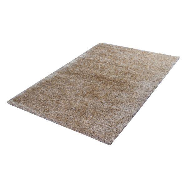 Tapete-Rectangular-Shag-Furry-150-220-4Cm-Poliester-Beige---
