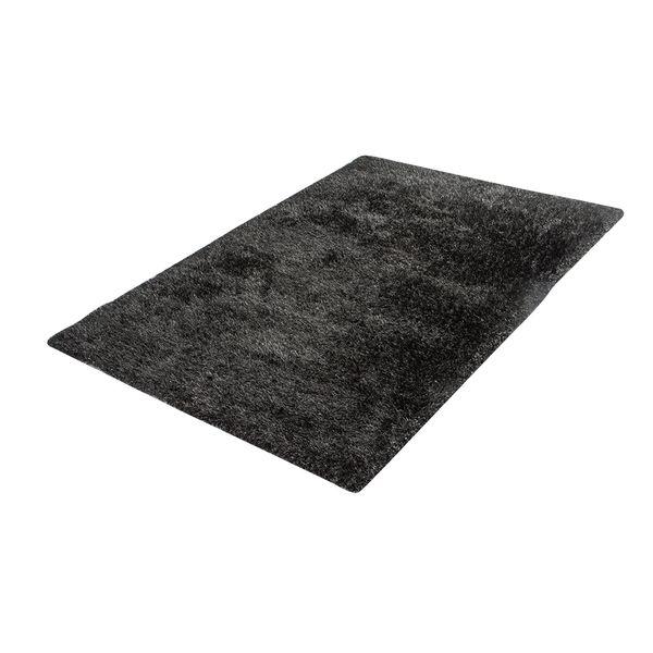 Tapete-Rectangular-Shag-Furry-150-220-4Cm-Poliester-Negro-G-