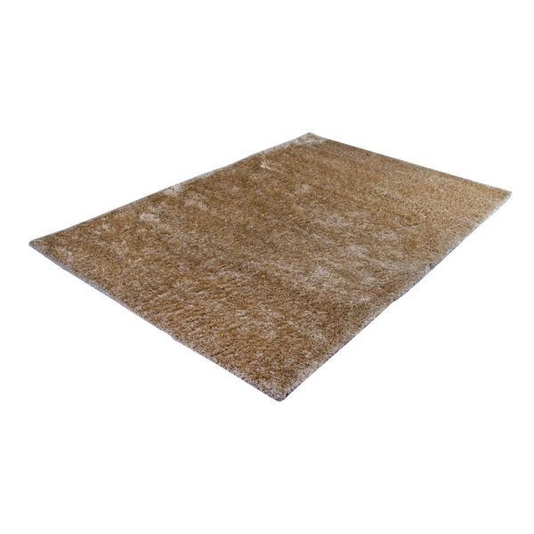 Tapete-Rectangular-Shag-Furry-200-300-4Cm-Poliester-Beige---