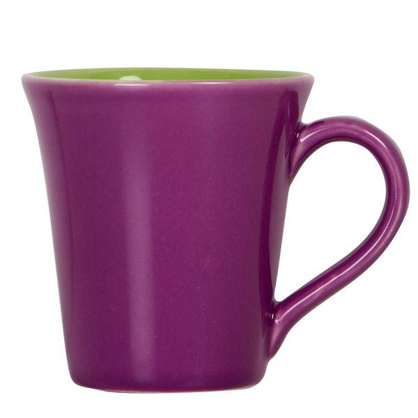 Mug-Bi-Tulipa-300Ml-Ceramica-Morado-Verde