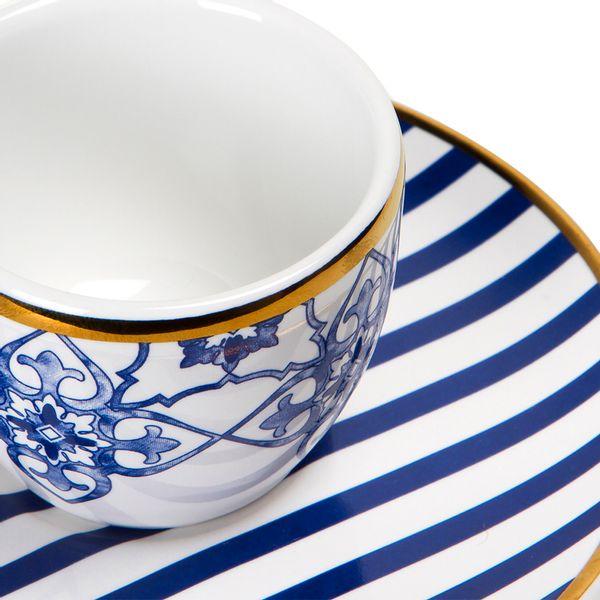 Taza-Cafe-Con-Plato-Lusitana-60Ml-Porcelana-Azul