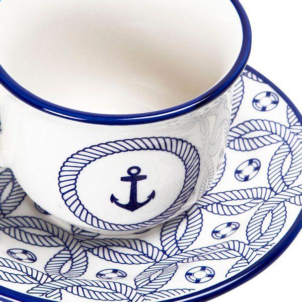 Taza-Te-Con-Plato-Nautico-220Ml-Ceramica-Azul