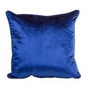 Funda-Cojin-S17-Basic-Velvet-45-45Cm-Poliester-Azul---------