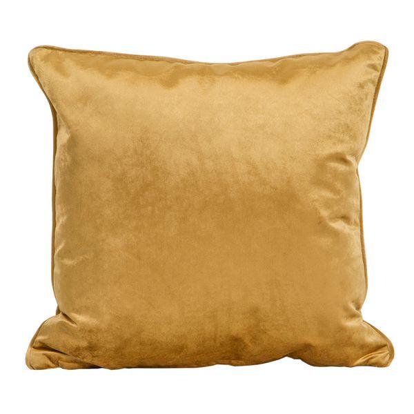 Funda-Cojin-S17-Basic-Velvet-45-45Cm-Poliester-Oro----------