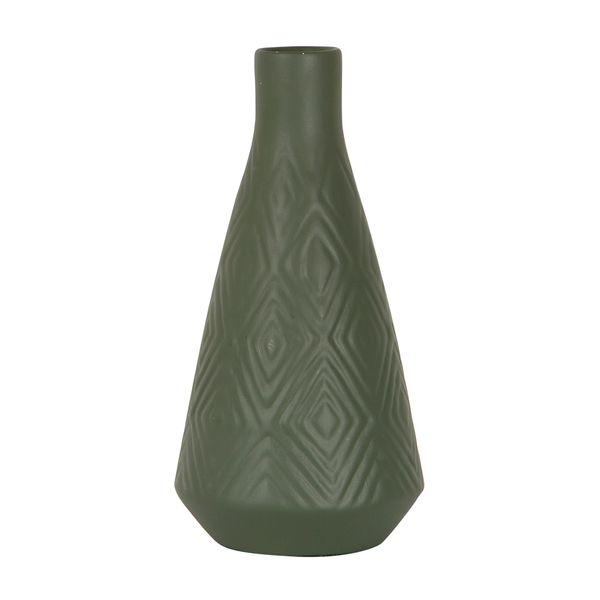Botella-C17-Mykonos-11-11-24.5Cm-Ceramica-Verde