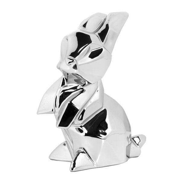 Figura-C17-Conejo-Niza-15-8.5-20Cm-Ceramica-Plata