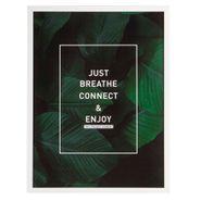 Cuadro-Ltb-Just-Breathe-32.7-4.5-42.6Cm-Vidrio-Verde--------