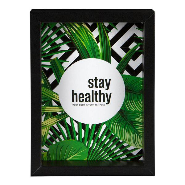 Cuadro-Ltb-Stay-Healthy-16-5.7-21Cm-Vidrio-Cv---------------