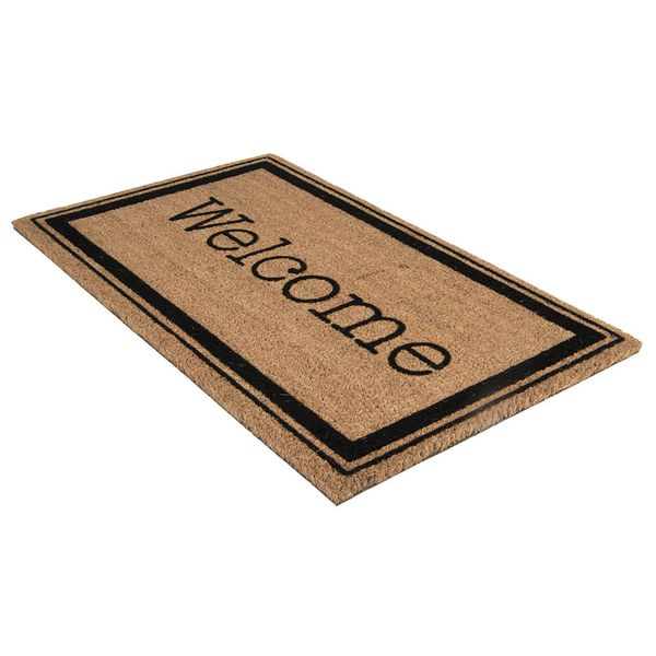 Tapete-Entrada-M.Welcome-45-75Cm--Fibra-Coco-Natural-Negro--