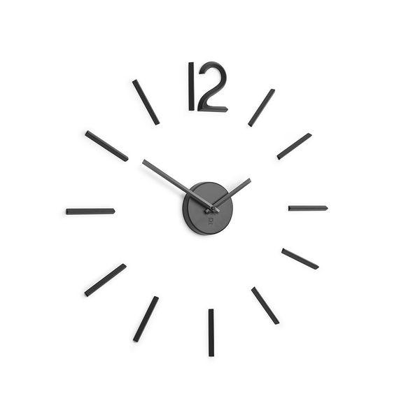 Reloj-De-Pared-Blink-99-3Cm-Metal-Negro