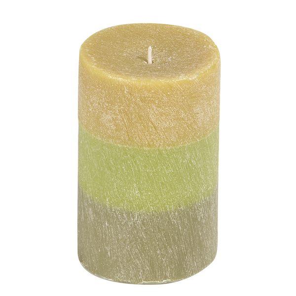 Vela-Degrade-Limoncillo-7.5-7.5-12Cm-Rayada-Verde-----------
