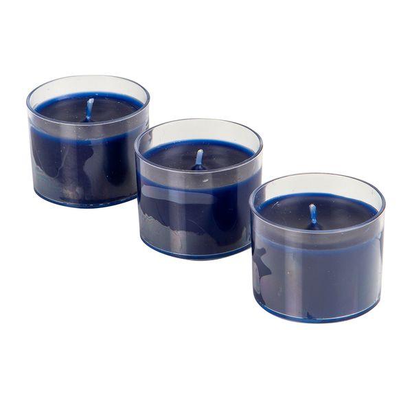 Set-3-Velas-Votive-Island-Roman-5-5-11.5Cm-Azul-Indigo------