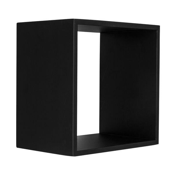 Repisa-Cubo-30-30-20Cm-Madera-Negro-------------------------