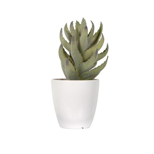 Suculenta-Artificial-Aloe-8-9-17Cm-Plastico-Verde-----------